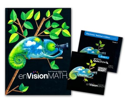enVision Homeschool Math Bundle, Grade 4   -