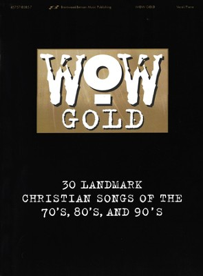 WOW Gold Songbook, Vocal/Piano   -     By: Various Artists
