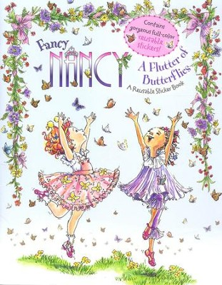 Fancy Nancy: A Flutter of Butterflies  -     By: Jane O'Connor     Illustrated By: Robin Preiss Glasser