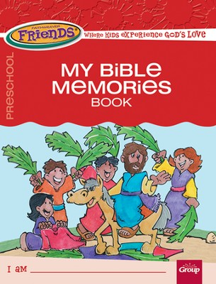 FaithWeaver Friends Preschool Student Book My Bible Memories, Spring 2014  -
