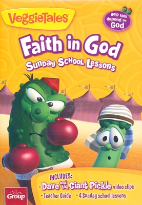 Veggietales: Faith in God Sunday School Curriculum   -