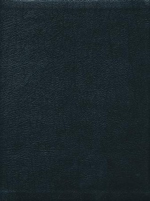 NIV Ministry Essentials Bible-Genuine leather, black   -