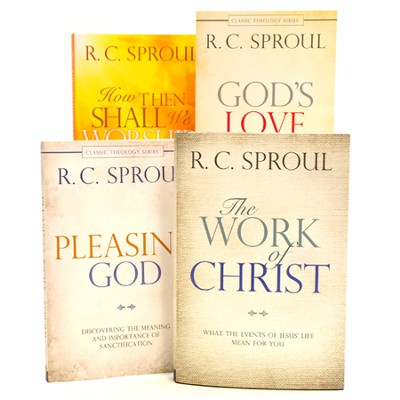 The Classic Theology Series, 4-Pack  -     By: R.C. Sproul