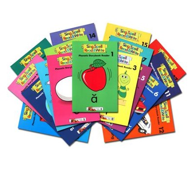 Phonetic Storybook Readers - Set of 1-17   -