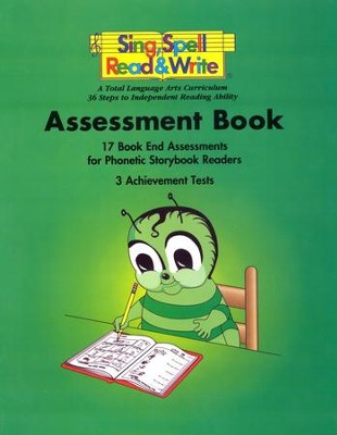 Sing, Spell, Read, and Write Assessment Book  - Slightly Imperfect  -