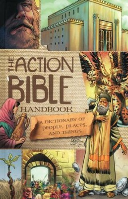 The Action Bible Handbook: People, Places, and Things  - Slightly Imperfect  -