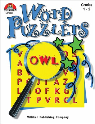 Word Puzzlers Grades 1-2  -