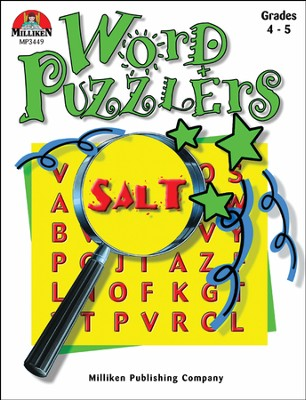 Word Puzzlers Grades 4-5  -
