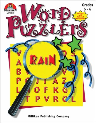 Word Puzzlers Grades 5-6  -