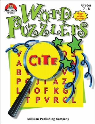 Word Puzzlers Grades 7-8  -