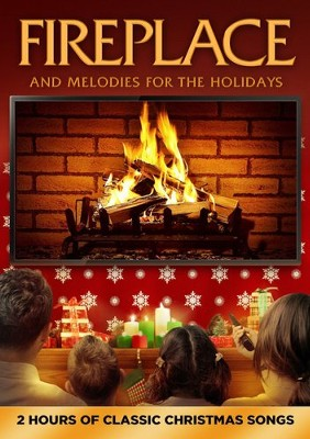 Fireplace and Melodies for the Holidays   -