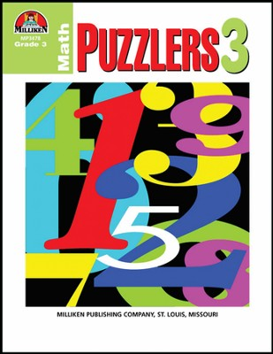 Math Puzzlers Grade 3  -