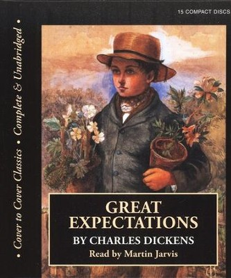 Great Expectations Audiobook on CD  -     Narrated By: Martin Jarvis     By: Charles Dickens