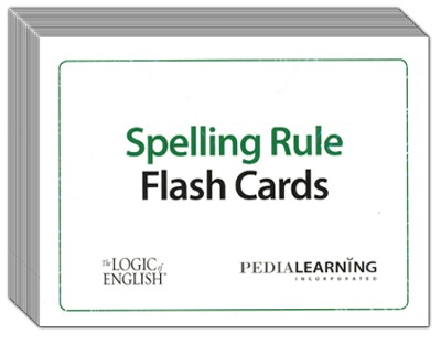 Spelling Rules Flash Cards   -     By: Denise Eide