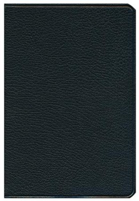 NKJV Pitt Minion Reference Bible Black Goatskin Leather  -
