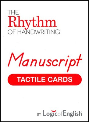 Rhythm of Handwriting Manuscript Tactile Cards   -