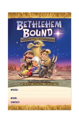 Bethlehem Bound Poster Pack, package of 5  -