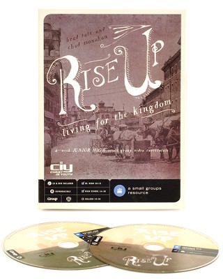 Rise Up: Living for the Kingdom DVD - Youth Bible Study for Junior and Senior High  -     By: Brad Tate