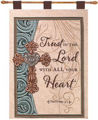 Trust In the Lord Wall Hanging  -
