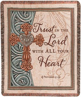 Trust In the Lord Throw  -