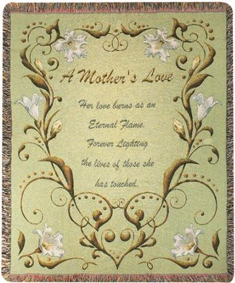 A Mothers Love--Tapestry Throw   -