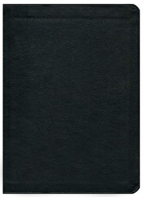 KJV Thompson Chain-Reference Bible, Black  Genuine Leather, Capri Grain  -