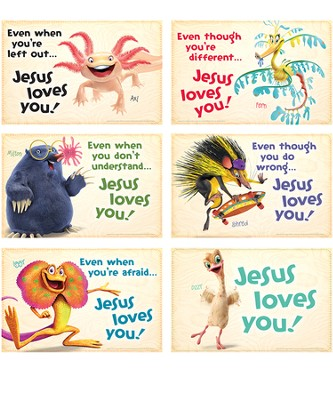 Bible Point Posters, set of 6  -