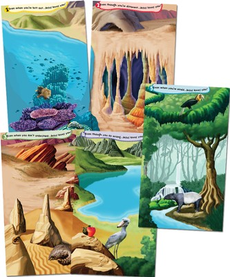 God Sightings Giant Posters, set of 5  -