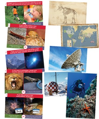 Imagination Station Posters, set of 10  -
