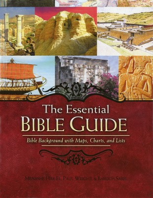 The Essential Bible Guide: Bible Background with Maps, Charts, and Lists - Slightly Imperfect  -     By: Menashe Har-El, Paul Wright, Baruch Sarel