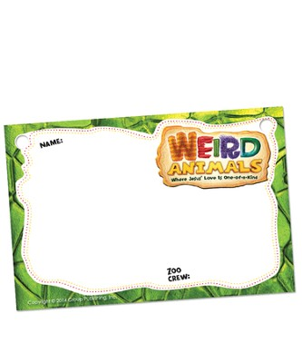 Name Badges, pack of 10  -