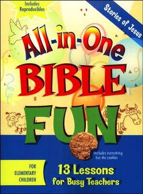 All-in-One Bible Fun: Stories of Jesus (Elementary edition)  -