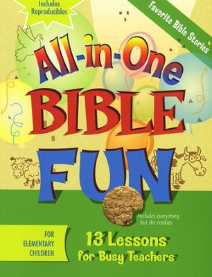 All-in-One Bible Fun: Favorite Bible Stories (Elementary  Edition)  -
