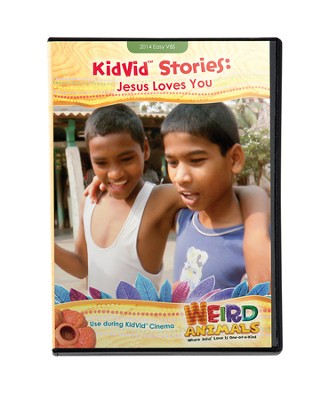 KidVid Stories: Jesus Loves You--DVD  -