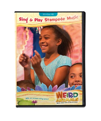 Sing & Play Stampede Music--DVD  -