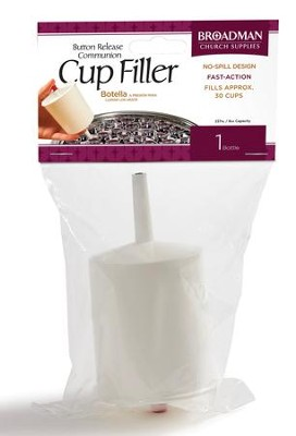 Button Release Cup Filler  -