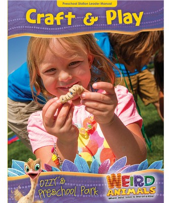 Ozzy's Preschool Park Craft & Play Leader Manual  -