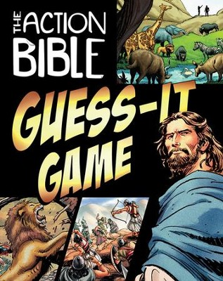 The Action Bible Guess-It Game   -     Illustrated By: Sergio Cariello