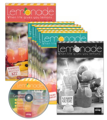 Lemonade: When Life Gives You Lemons . . . God Makes Things New! Women's Mini-Event Kit  -