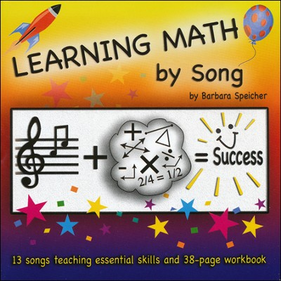 Learning Math by Song Audio & PDF CD-ROM   -     By: Barbara Speicher