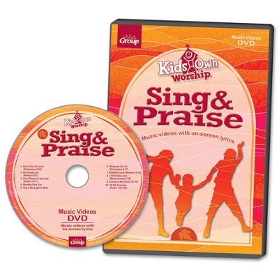 KidsOwn Worship DVD, Preschool & Elementary, Fall 2014  -