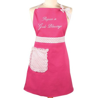 Rejoice In Gods Blessing Apron  -