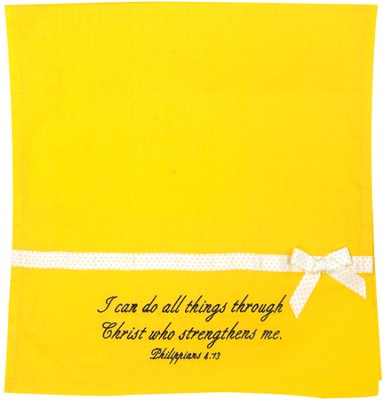 I Can Do All Things Hand Towels, Set of 2  -