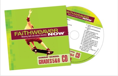 FaithWeaver Now Grades 5&6 CD, Fall 2014  -