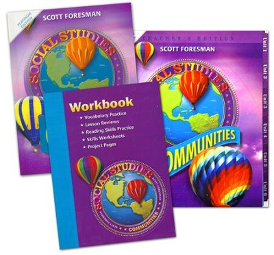 Scott Foresman Social Studies Grade 3 Homeschool Bundle   -