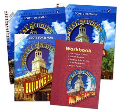 Scott Foresman Social Studies Grade 6 Homeschool Bundle   -