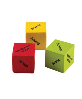 I-Can-Serve Cubes, pack of 3  -