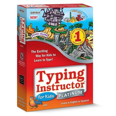 Typing Instructor for Kids Platinum on CD-ROM   -