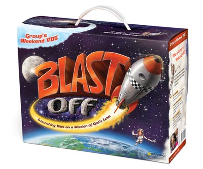Blast Off! VBS Starter Kit: Launching Kids on a Mission of God's Love  -