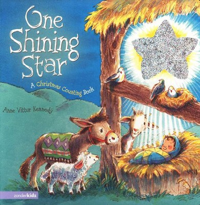 One Shining Star: A Christmas Counting Book, Board book  -     By: Anne Vittur Kennedy